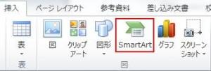 「SmartArt」を使ってみよう